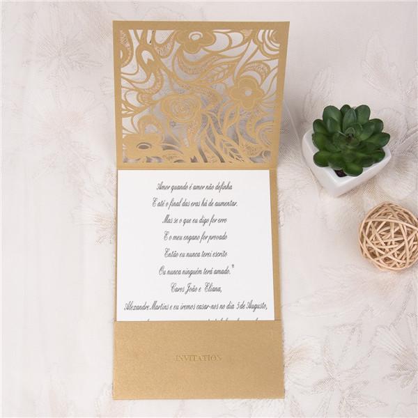 Top Invito Per Matrimonio Romantico Laser Cut WPL0017 [WPL0017] - €0.00 : BV18